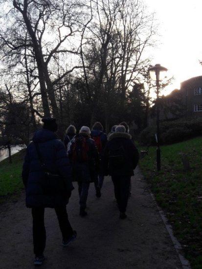 Wandelen bij het Rietveld Schröderhuis