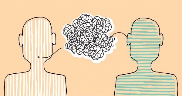 Hoe komt het dat je elkaar niet begrijpt?
