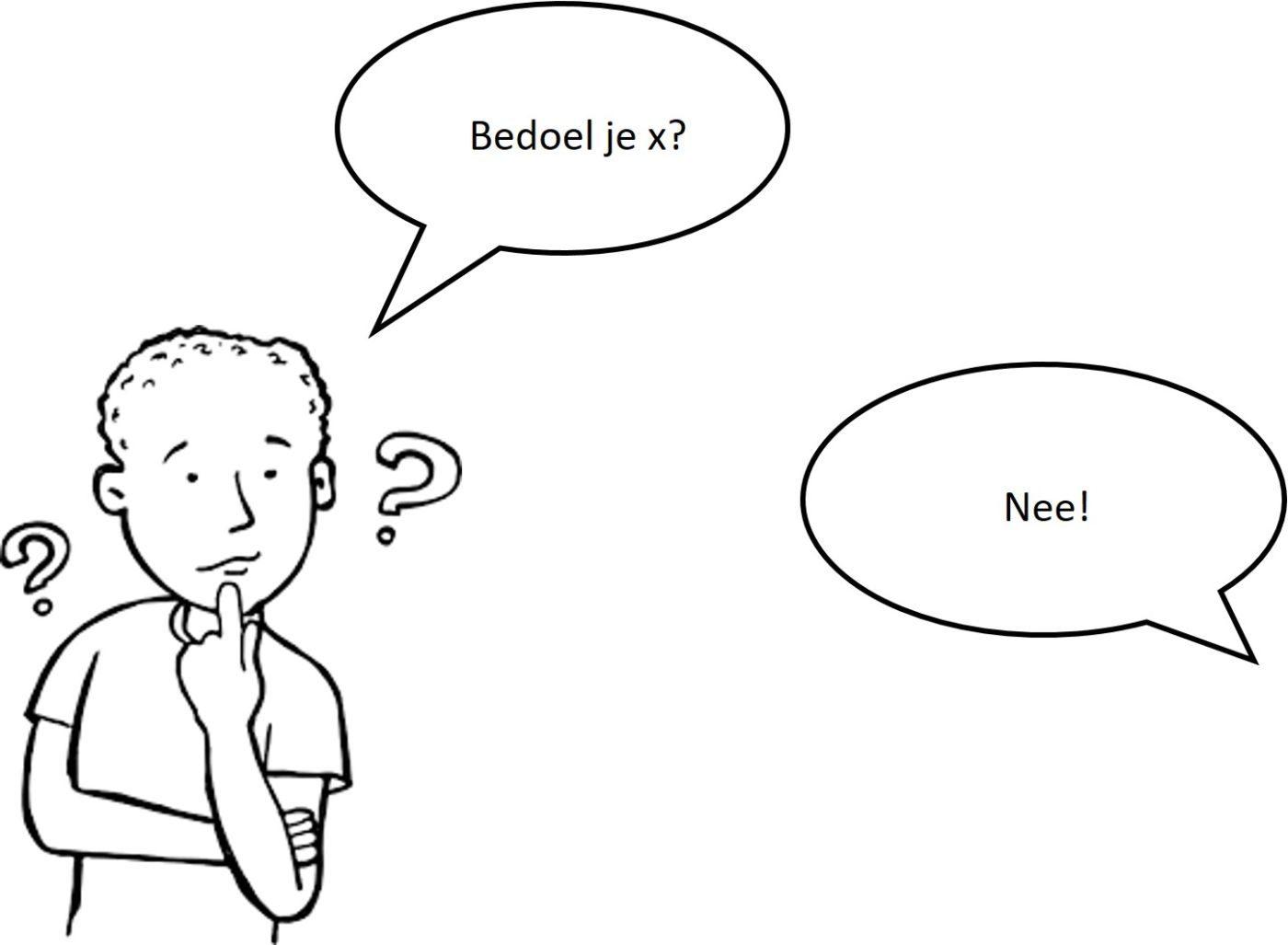 Hoe reageren gesprekspartners als ze iets niet helemaal begrijpen?