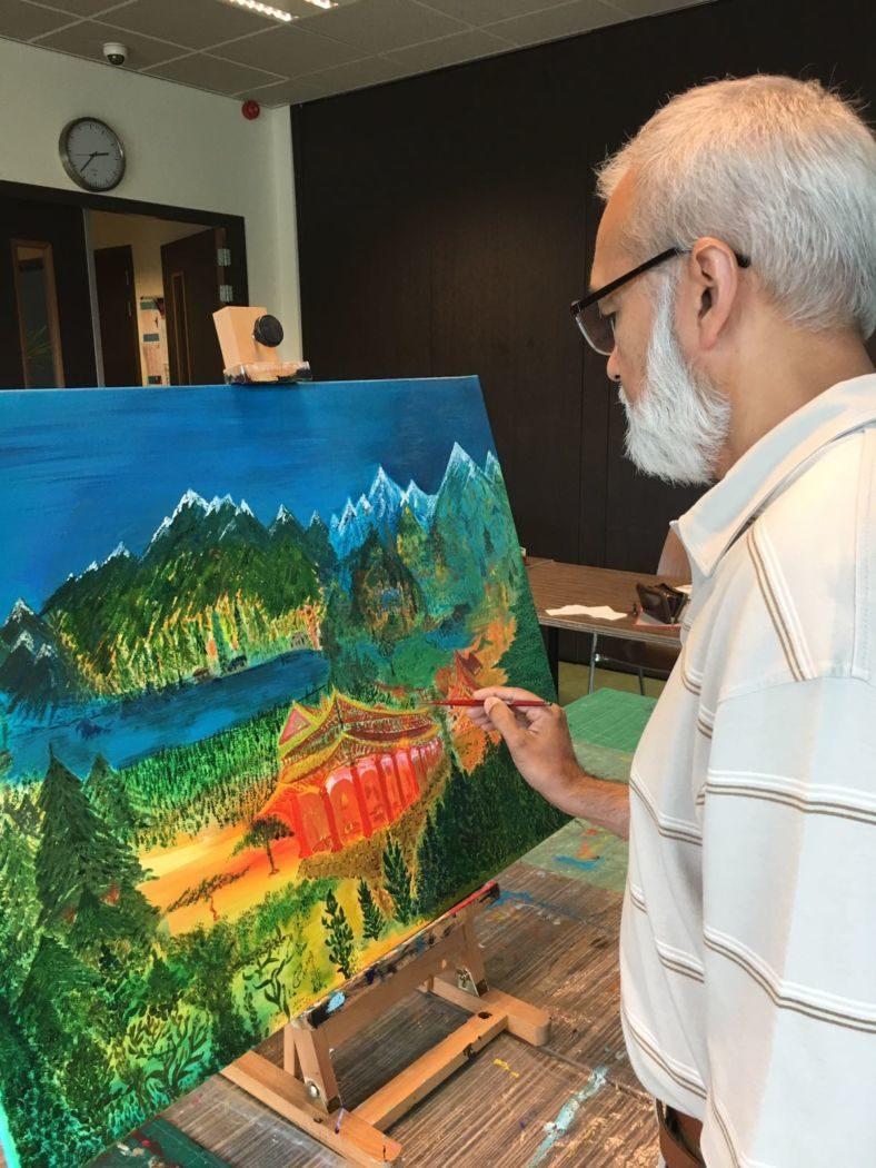 Afasie en schilderen