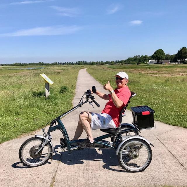 Mijn driewieler 'Easy Rider', geweldige fiets !!!