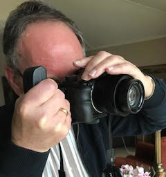 Rene fotografeert